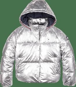 Tommy Hilfiger Jas KG0KG05265 zilver