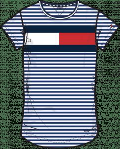 Tommy Hilfiger Tee KG0KG05689 stripe big logo