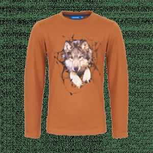 Someone LTee SB03-212-20678 Loup wolf cognac