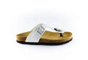 Kipling teenslipper Maria 3 11965374-0805-zilver