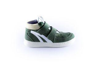 Clic sneaker  CL-20180 Militair wit velcro