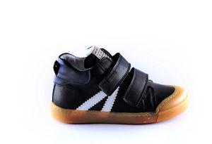 Develab sneaker 46157 soft velcro zwart