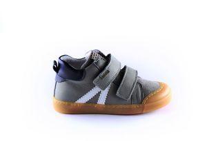 Develab sneaker 46157 soft velcro grijs