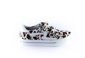 Develab sneaker 42594  leopard vans velcro