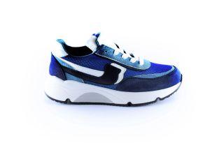 Rondinella sneaker 11713 Blauw zwart