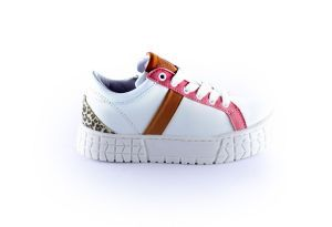 Hip Sneaker H1804-30CO-BC wit roze cognac