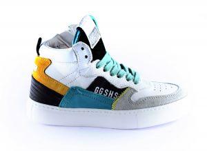 Giga sneaker G3724 Groen oker wit