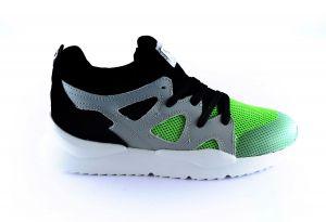 Red Rag Sneaker 13083 Green fabrics