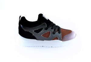 Red Rag Sneaker 13083 orange fabrics