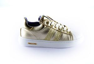 Pinocchio sneaker P1834-96ME-96 Goud