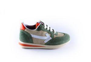Clic sneaker CL-20331 Militair beige wit
