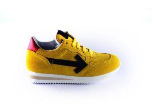 Clic sneaker CL-20331 geel zwart rood