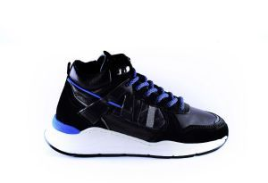 Giga boys sneaker G3851 zwart grey reflect