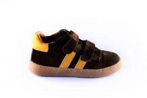 Clic sneaker first step CL-9891 bruin suéde