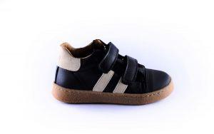 Clic sneaker first step CL-9891 zwart witte stripe