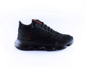 Red Rag boys sneaker 13541 all over zwart
