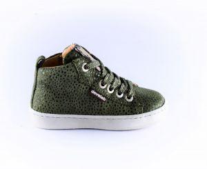 Develab sneaker 41602 leopard khaki