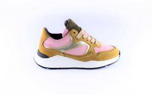 Hip sneaker H1355-36SU-80  beige pink suede