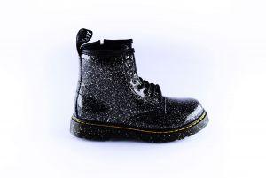 Dr.Martens bootie 27051001zwart cosmo glitter