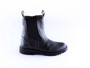 Clic  laars  CL-20445 zwart rubber stootneus