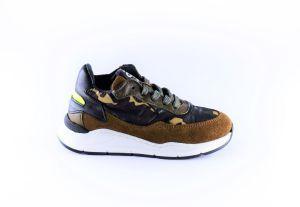 Pinocchio sneaker P1400-65CO army print groen