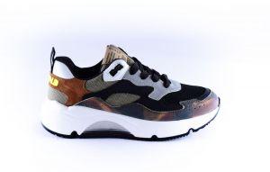 Rondinella sneaker 11712 Groen camouflage