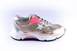 Rondinella sneaker 11957 gold rosé  shine