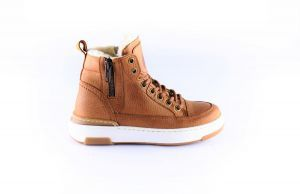 Giga boys sneaker G3861 Cognac  bond rand