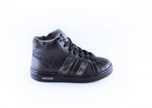 Pinocchio sneaker P1402-10CO zwart stripe
