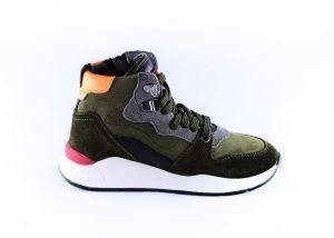 Hip sneaker H1540-65CO-CC groen oranje