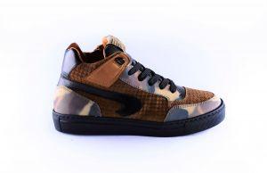 Rondinella sneaker 11862 cognac camouflage