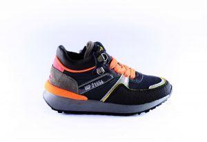 Hip sneaker H1545-46CO-CC velcro navy