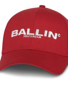 Ballin cap  PWC09 rood