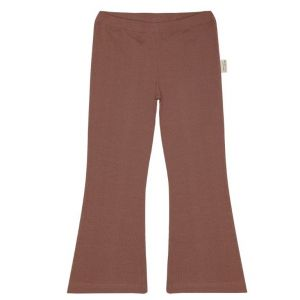 Little Indians flair pants PT2122U06 rib sand