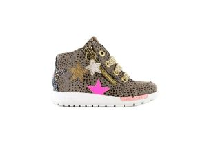 Shoesme run flex RF21W040-B Dots rose ster