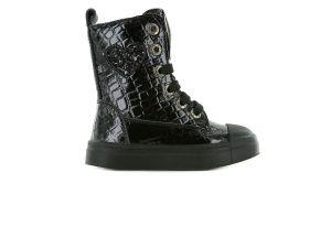 Shoesme Bootie SH21W019-C  zwart lak studs