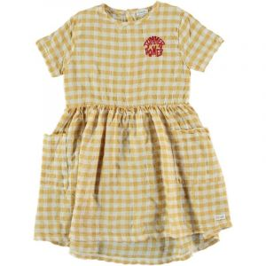Picnik dress SS21-081 geel geruit
