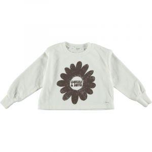 Picnik sweater  SS21-125 unisex big flower