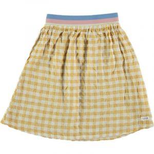 Picnik Skirt  SS21-157 ruit-regenboorband