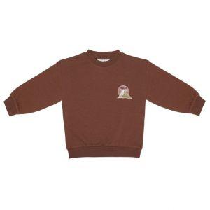 Little Indians sweater SW2122U04 pale bordo