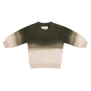 Little Indians sweater SW2122U05 tie dye green