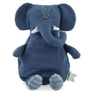 Trixie pluche toy smalll 25-510 Mrs.Elephant Blauw