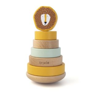 Trixie wooden stacking toy 36-153 Mr.Lion
