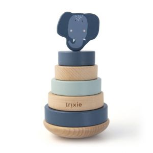 Trixie wooden stacking toy 36-154 Mrs.Elephant