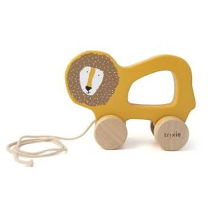 Trixie wooden pull toy 36-177 Mr.Lion