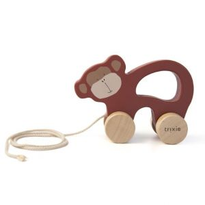 Trixie wooden pull toy 36-179 Mr.Monkey