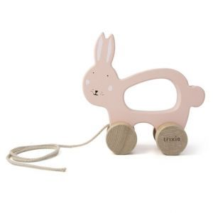 Trixie wooden pull toy 36-181 Mrs.Rabbit