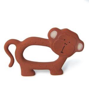 Trixie natural rubber bijtring 37-656 Mr.Monkey