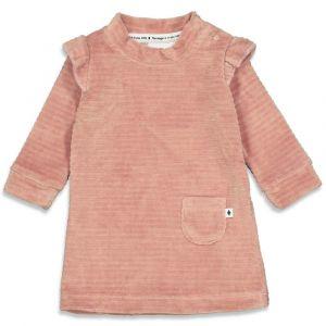 Feetje dress 51400384 Magic Roze fluweel