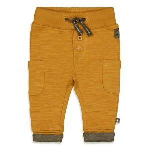 Feetje pants B 52201691 Griddly bear oker